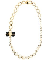 Dior - Pre-owned Gold Metal Necklaces - Lyst