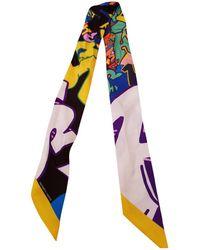 Hermès - Pre-owned Twilly Silk Choker - Lyst
