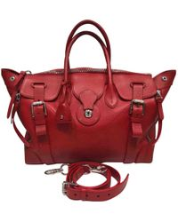 227a101cacd1 Ralph Lauren Collection - Ricky Red Leather Handbag - Lyst