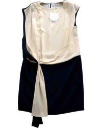 Chloé - Silk Mini Dress - Lyst