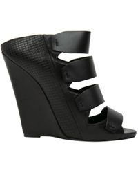 Narciso Rodriguez - Leather Heels - Lyst