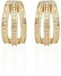 Cartier - Yellow Yellow Gold Earrings - Lyst