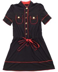 Marc By Marc Jacobs - Navy Cotton Dress - Lyst