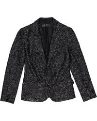 Zadig & Voltaire - Black Synthetic Jacket - Lyst