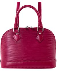 Louis Vuitton - Alma Other Leather Handbag - Lyst