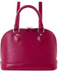 Louis Vuitton - Pre-owned Alma Leather Handbag - Lyst