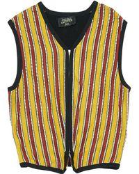 Jean Paul Gaultier - Vintage Yellow Viscose Knitwear & Sweatshirts - Lyst