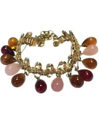 Dior - Pre-owned Multicolour Glass Bracelet - Lyst