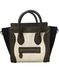 Céline - Nano Luggage Leather Mini Bag - Lyst