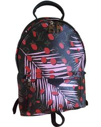 Louis Vuitton - Pre-owned Palm Springs Leather Backpack - Lyst