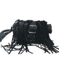 The Kooples - Black Leather Handbag - Lyst