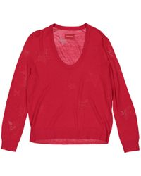 Zadig & Voltaire - Red Wool Knitwear - Lyst