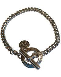 Marc By Marc Jacobs Silver Metal Bracelets - Metallic