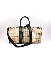Burberry - Leather 48h Bag - Lyst