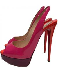 Pre-owned - Private Number leather heels Christian Louboutin 4GLQqDdX