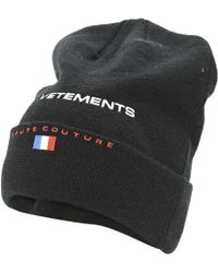 Vetements - Pre-owned Wool Hat - Lyst