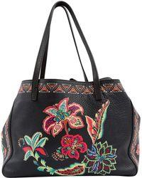 Etro - Leather Handbag - Lyst