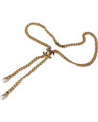 Chanel | Pre-owned Necklace | Lyst