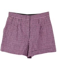 Nina Ricci - Wool Mini Short - Lyst