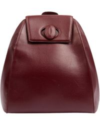 Cartier - Burgundy Leather - Lyst