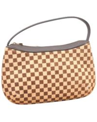 aff2736f12f6 Lyst - Louis Vuitton Pre-owned Alma Pony-style Calfskin Bag in Natural