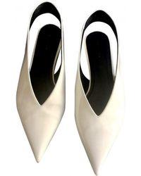Céline | Leather Flats | Lyst