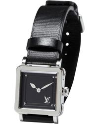 Louis Vuitton - Pre-owned Silver Steel Watch - Lyst