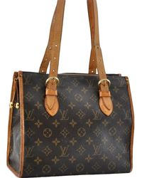 Louis Vuitton - Popincourt Brown Cloth - Lyst