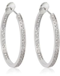 Cartier - Pre-owned Other White Gold Earrings - Lyst