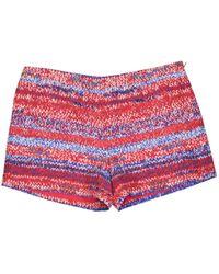 Tory Burch - Multicolour Silk Shorts - Lyst