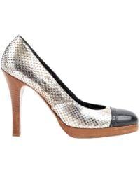 Golden Goose Deluxe Brand - Pink Water Snake Heels - Lyst