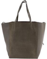 Céline - Cabas Phantom Leather Tote - Lyst