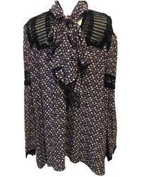 Anna Sui - Silk Top - Lyst