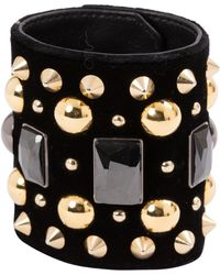 Givenchy - Navy Metal Bracelet - Lyst