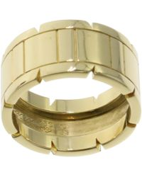Cartier - Tank Française Yellow Gold Ring - Lyst