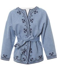 Vilshenko Blue Cotton