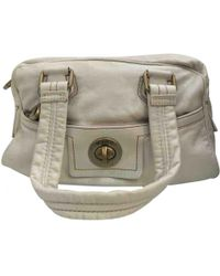 Marc By Marc Jacobs - White Leather Handbag - Lyst