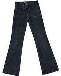 Vanessa Bruno - Blue Cotton - Elasthane Jeans - Lyst