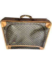 Louis Vuitton - Pre-owned Leather 24h Bag - Lyst