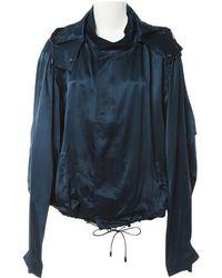 Lanvin - Silk Jacket - Lyst