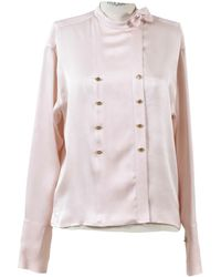 Chanel - Pre-owned Silk Blouse - Lyst