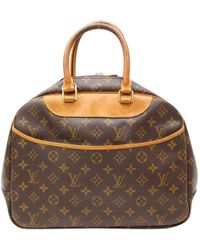 Louis Vuitton - Deauville Cloth Handbag - Lyst
