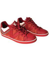 Louis Vuitton - Sneakers Basse In Pelle - Lyst