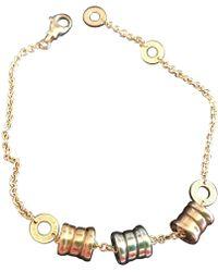 BVLGARI - Pre-owned B.zero1 Yellow Gold Bracelet - Lyst