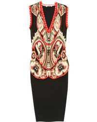 Givenchy - Silk Mid-length Dress - Lyst