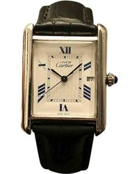 Cartier - Pre-owned Tank Solo Watch - Lyst