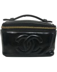 Chanel | Patent Leather Vanity Case | Lyst