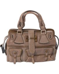 Chloé - Leather Handbag - Lyst