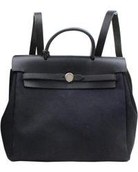 Hermès - Pre-owned Herbag Backpack - Lyst