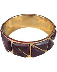 Etro - Pre-owned Gold Metal Bracelet - Lyst
